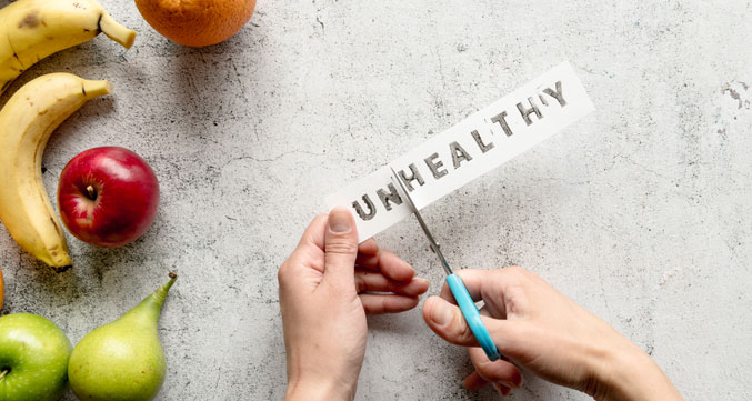 image of word healthy