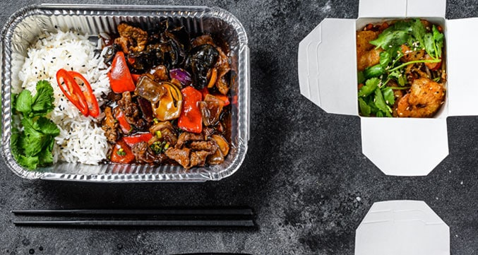 image of different meal pack